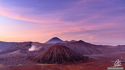 Morning at mt. Bromo