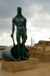 Statue of a Crusader