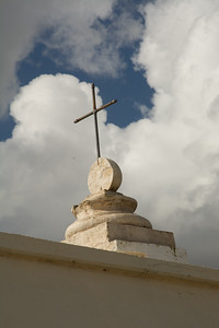 Cross on Carmelite Monastery