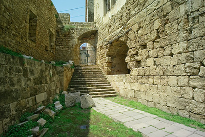 The fort dates back to Crusader times