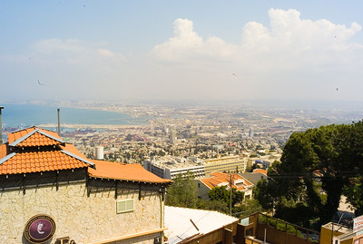 There were spectacular views from many parts of Mt. Carmel