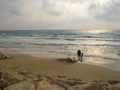 We took a stroll along the beach