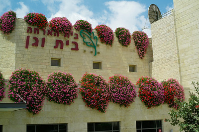 Flowers abound in Jerusalem