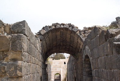 This arch survived the  earthquake of 749 the destroyed the city