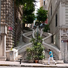 Donated by the Sephardic Jewish banker Abraham Kamondo, the baroque style built Kamondo Stairs climb up the hill from Voyvoda Street to the 19th century neighborhoods of Karakoy