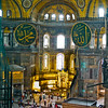 The Hagia Sofia was the largest cathedral in the world for nearly a thousand years. It was constructed between 532 and 537 on the orders of the Byzantine Emperor Justinian