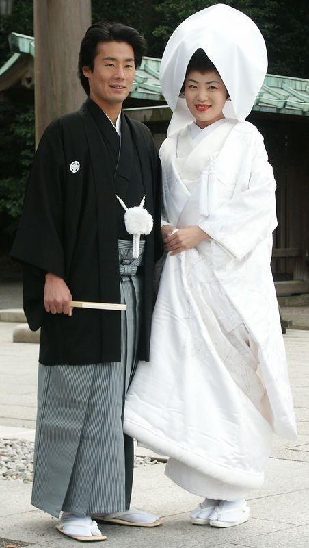 One of thousand shinto weddings celebrated every weekend.