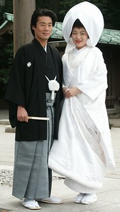 One of thousand shinto weddings celebrated every weekend.