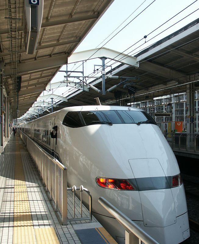 Shinkansen to Kyoto (270 km/h): 2 hours 20 minutes!
