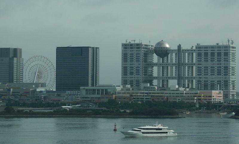 New Tokyo landmark: Fuji TV headquarters