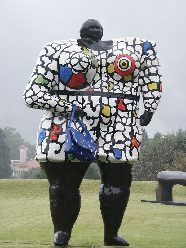 Hakone Open Air museum was built as a Tribute to Picasso. Art is from Niki de Saint-Phalle.