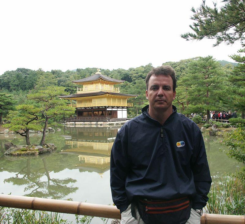 Kinkakuji (Golden Pavilion) is a Zen temple formally known as Rokuonji