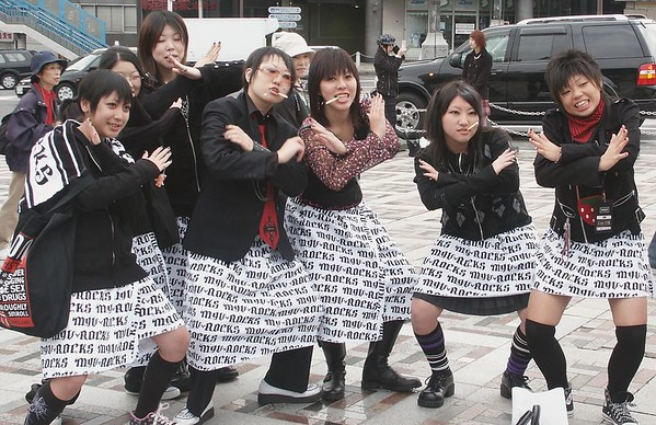 "Harajuku Sunday tradition: ""Dress and impress"""
