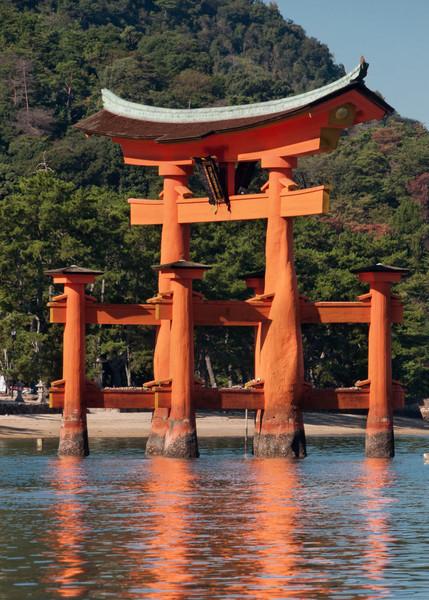The Floating Torii, Miyajima, Hiroshima