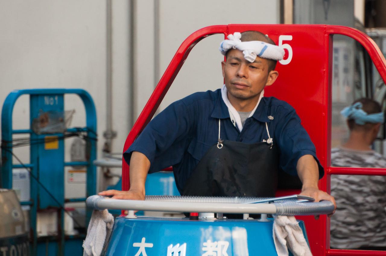 Fish Market worker