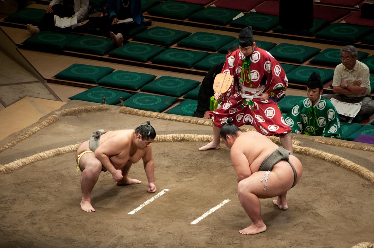 The Ryogoku for Sumo matches
