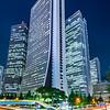 Japan - Honshu Island - Tokyo - 東京 - Tōkyō - Shinjuku - 新宿区 - Shinjuku-ku - Major commercial & administrative centre, housing the busiest train station in the world - Flux of traffic before the Sampo building