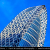 Japan - Honshu Island - Tokyo - 東京 - Tōkyō - Shinjuku - 新宿区 - Shinjuku-ku - Major commercial & administrative centre, housing the busiest train station in the world - Mode Gakuen Cocoon Tower - モード学園コクーンタワー - Mōdo gakuen kokūn tawā - 204-metre (669 ft), 50-story educational facility located in the Nishi-Shinjuku district