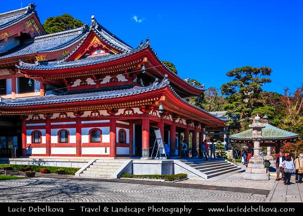 Japan - Honshu Island - Kanagawa Prefecture - Kamakura - 鎌倉市 - Kamakura-shi - Hase-dera temple - Jizo-Bosatsu represents the blessings of the earth