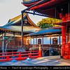 Japan - Honshu Island - Tokyo - 東京 - Tōkyō - Ueno Park -上野公園 - Ueno Kōen - Large public park next to Ueno Station in central Tokyo - Area with Kaneiji Temple & Toshogu Shrine
