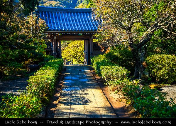 Japan - Honshu Island - Kanagawa Prefecture - Kamakura - 鎌倉市 - Kamakura-shi - Area of many ancient sacred temples