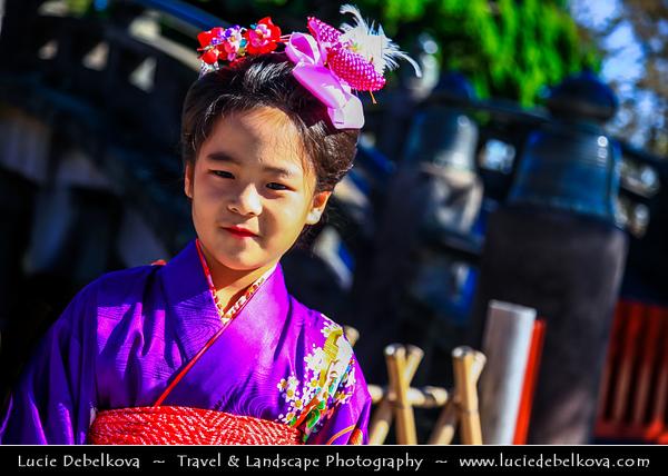 Japan - Honshu Island - Kanagawa Prefecture - Kamakura - 鎌倉市 - Kamakura-shi - Tsurugaoka Hachiman-gū - The most important Shinto shrine in the city of Kamakura - Traditional Japanese wedding