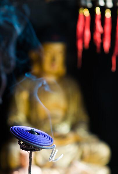 Dongshan, templombelső