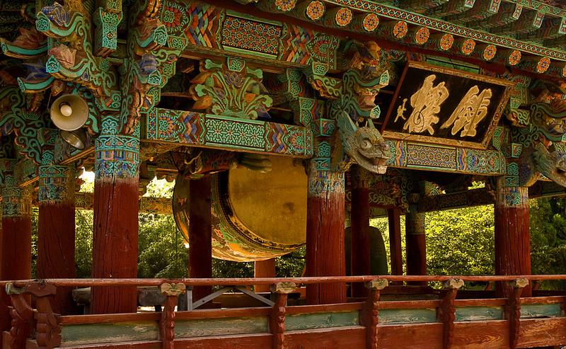 Drum, Beomeosa Temple, Busan
