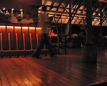 This is the Thai restaurant - one of three at the resort.  The sister resort, the Andaman, located on the same Datai Bay is larger and has 4 restaurants which we could also use.