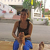 This beautiful Thai girl gave me a great foot massage