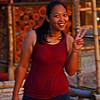 Bo  the main waitress at the Indian Bar
