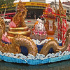 The kings Krantong is floated on the canals and then on the river on the last night of the festival.