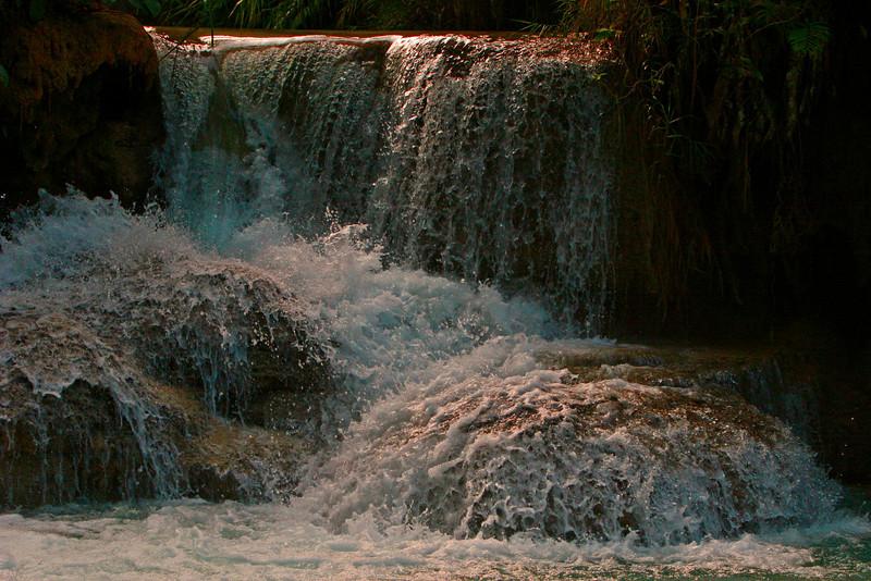 Waterfalls out side of Luang Prubang