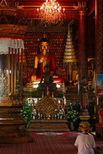 Buddist temple for the Year of the Dog