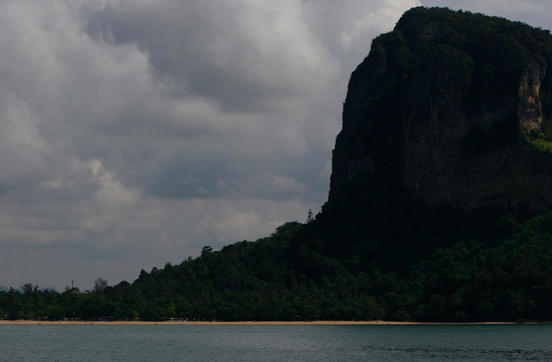 Beach near Krabi Thailand, know for its Full Moon parties and majic mushrooms.