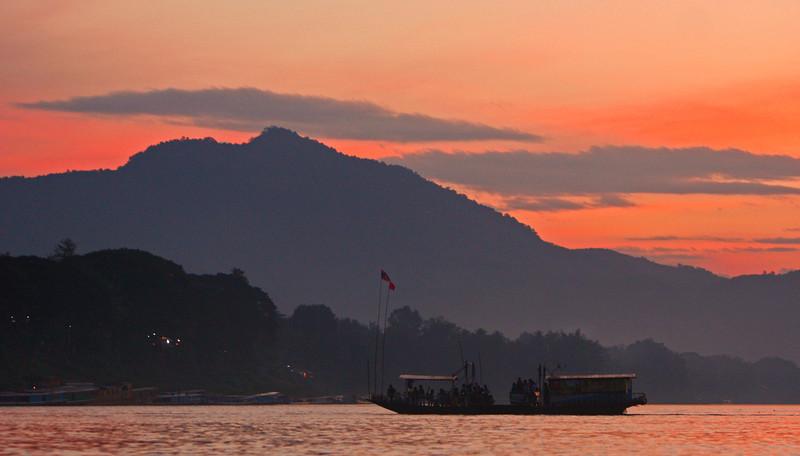 Last ferry to Luang Prubang
