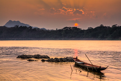 Mekong River Sunset