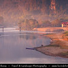 Asia - Laos - Vientiane Province - Vang Vieng - Small traditional town surrounded by Limestone Hills and Nam Song River