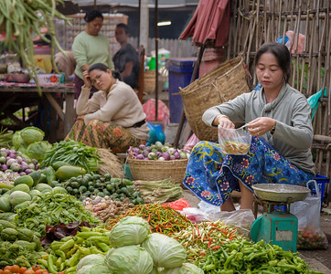 Vegetable Scale, Produce Market