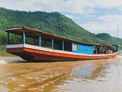 Fancier long boat