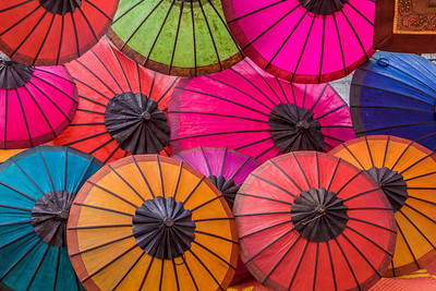 Umbrellas II, Night Market