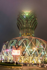 The Grand Lisboa in Macau