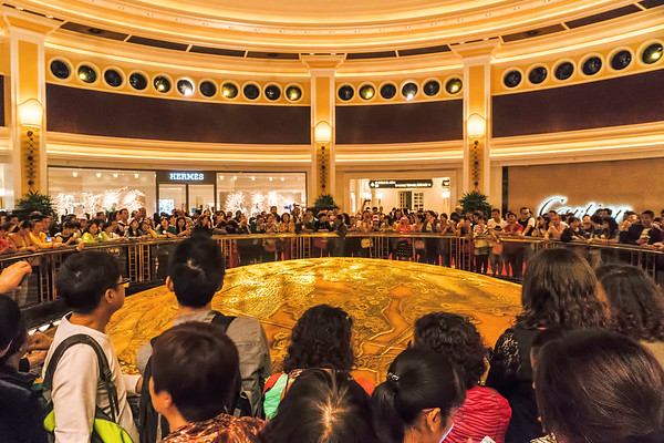 Golden Tree of Prosperity at Wynn Macau