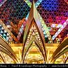 Macau - Macao - 澳門 - 澳门 - SAR - Special administrative region of China - Casino area - Grand Lisboa Hotel and Casino