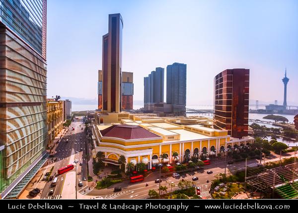Macau - Macao - 澳門 - 澳门 - SAR - Special administrative region of China - Casino area