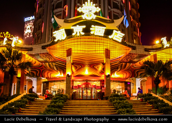 Macau - Macao - 澳門 - 澳门 - SAR - Special administrative region of China - City Skyline View from Macau Tower - 澳門旅遊塔 - Torre Panorâmica - Macau Sky Tower - Casino area