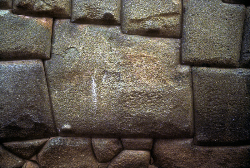 twelve sided stone, cusco , peru  The detail that went into fiting a stone like this into a massive wall in incredible