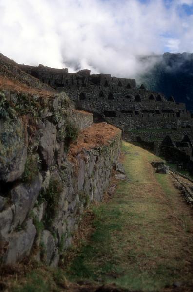 Machu Pichu Trail machu pichu, peru