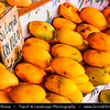 Southeast Asia - Malaysia - Borneo - Sabah - Kota Kinabalu - Life on Traditional Market - Mango Fruit