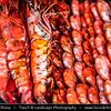 Southeast Asia - Malaysia - Borneo - Sabah - Kota Kinabalu - Life on Traditional Market - Local Grilled Fish
